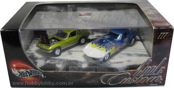Hot Wheels 100% - Collector Set - Cool & Custom III - Hobby Lobby CollectorStore
