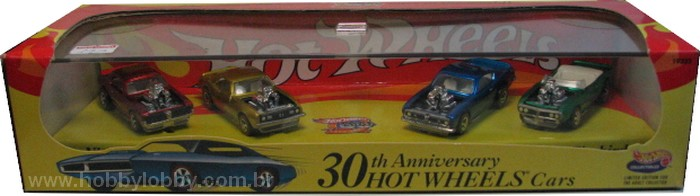 Hot Wheels 100% - Collector Set - 30th Anniversary Hot Wheels