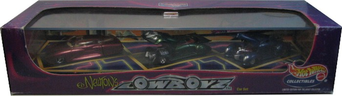 Hot Wheels 100% - Collector Set - Ed Newton´s LowBoyz