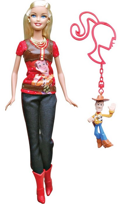 Barbie Toy Story 3 - Barbie & Woody  - Hobby Lobby CollectorStore