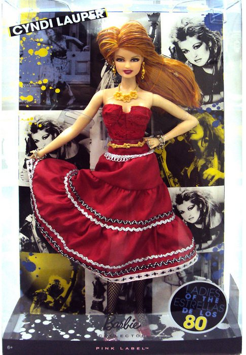 Barbie Collector - Cyndi Lauper  - Hobby Lobby CollectorStore
