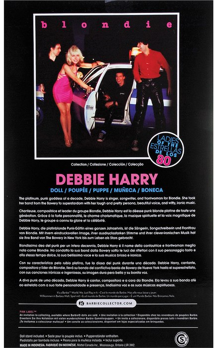 Barbie Collector - Debbie Harry - Hobby Lobby CollectorStore