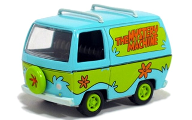 Johnny Lightning - Hollywood on Wheels - The Mystery Machine - Scooby Doo