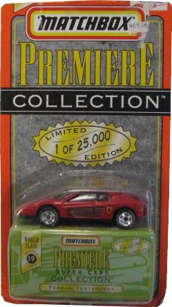 Matchbox - Ferrari Testarossa