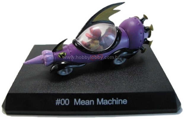 Konami - Wacky Races - #00 Máquina do Mal - Dick Vigarista  - Hobby Lobby CollectorStore