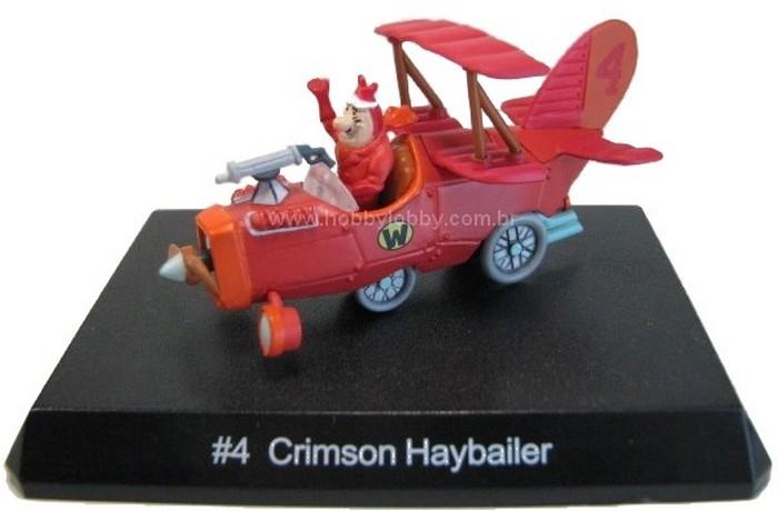 Konami - Wacky Races - #04 Carro Voador - Barão Vermelho  - Hobby Lobby CollectorStore