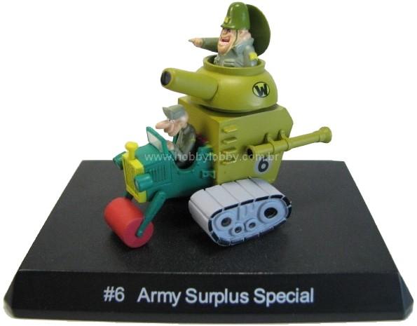 Konami - Wacky Races - #06 Carro Tanque - Sargento Bombarda  - Hobby Lobby CollectorStore