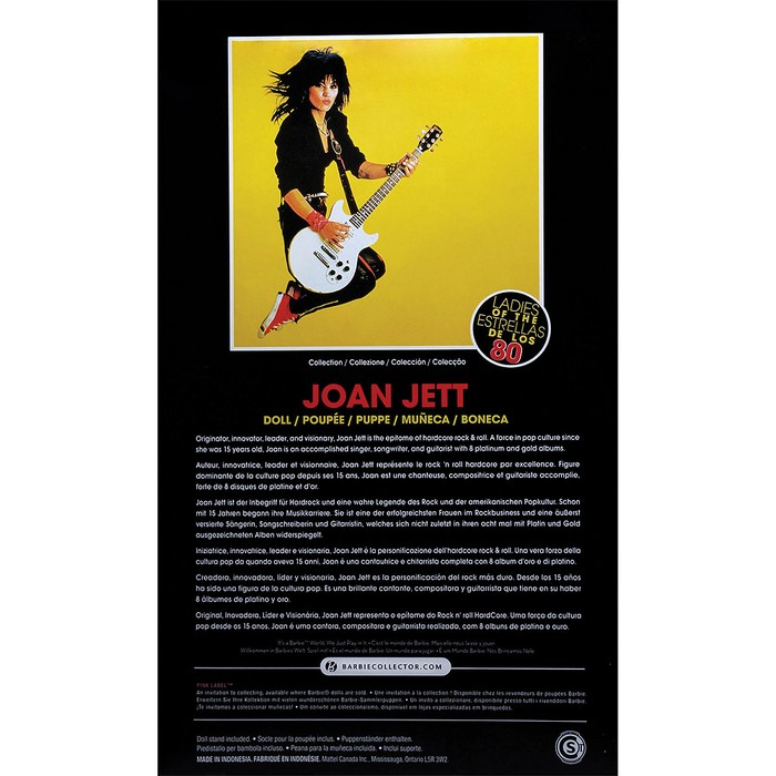 Barbie Collector - Joan Jett  - Hobby Lobby CollectorStore