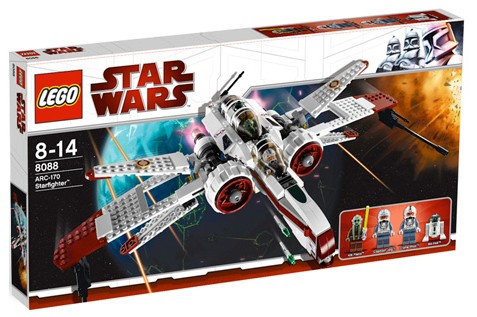 Lego Star Wars - ARC-170 Starfighter [ref:8088]