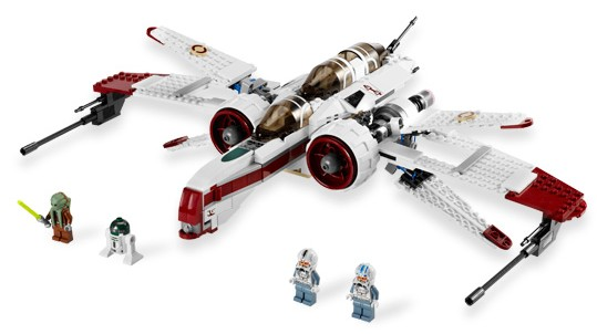 Lego Star Wars - ARC-170 Starfighter [ref:8088]  - Hobby Lobby CollectorStore