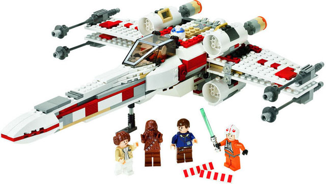 Lego Star Wars - X-Wing Fighter - Ref.:6212  - Hobby Lobby CollectorStore