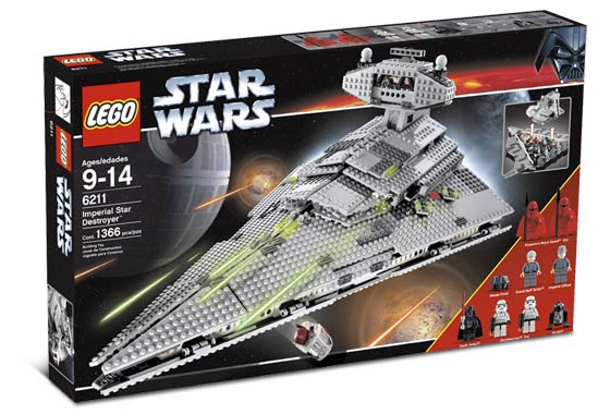 Lego Star Wars - Imperial Star Destroyer - Ref.:6211
