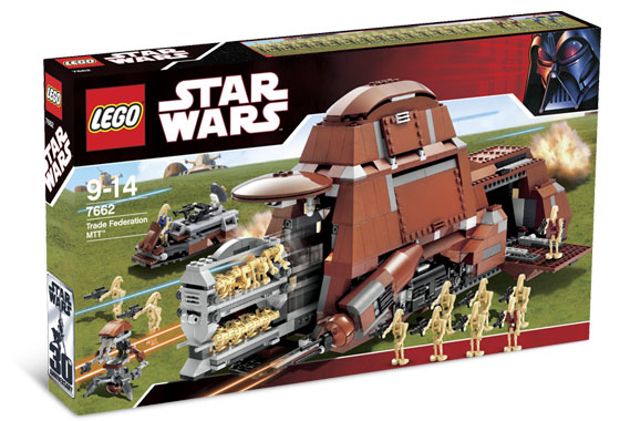 Lego Star Wars - Trade Federation MTT - Ref.:7662  - Hobby Lobby CollectorStore