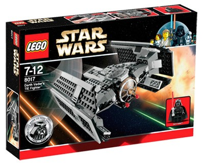 Lego Star Wars - Darth Vader´s Tie Fighter [ref:8017]  - Hobby Lobby CollectorStore