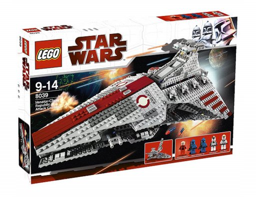 Lego Star Wars - Venator-Class - Republic Attack Vruise - Ref.:8039  - Hobby Lobby CollectorStore