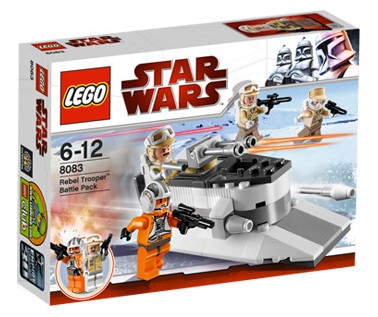 Lego Star Wars - Rebel Trooper Battle Pack - Ref.:8083  - Hobby Lobby CollectorStore