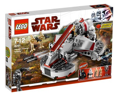 Lego Star Wars - Republic Swamp Speeder - Ref.:8091