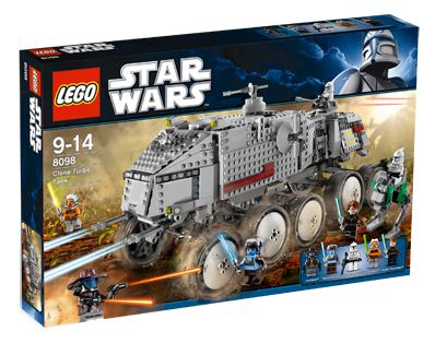 Lego Star Wars - Clone Turbo Tank - Ref.:8098  - Hobby Lobby CollectorStore
