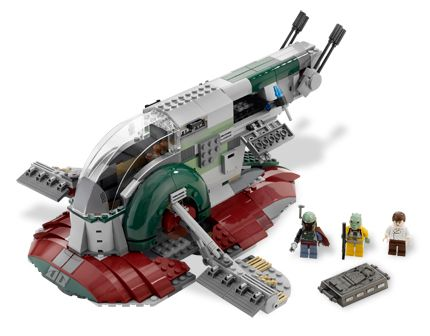 Lego Star Wars - Slave I - Ref.:8097  - Hobby Lobby CollectorStore