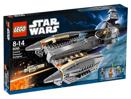 Lego Star Wars - General Grievous Starfighter - Ref.:8095