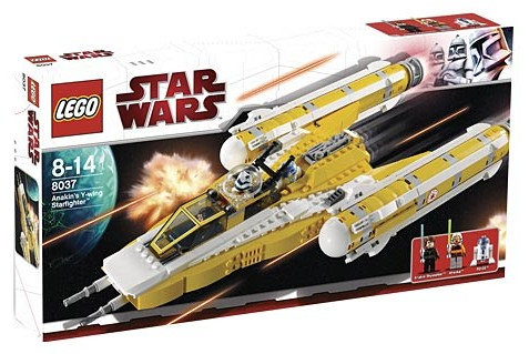 Lego Star Wars - Anakin´s Y-Wing Starfighter [ref:8037]  - Hobby Lobby CollectorStore