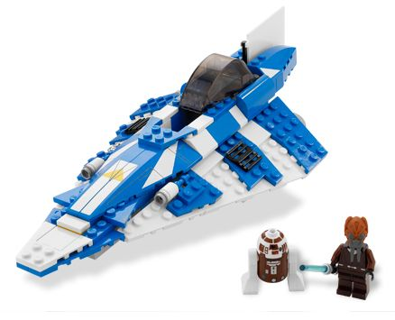 Lego Star Wars - Plo Koon´s Starfighter - Ref.:8093  - Hobby Lobby CollectorStore