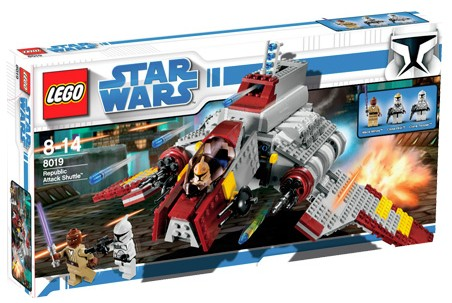 Lego Star Wars - Republic Attack Shuttle - Ref.:8019