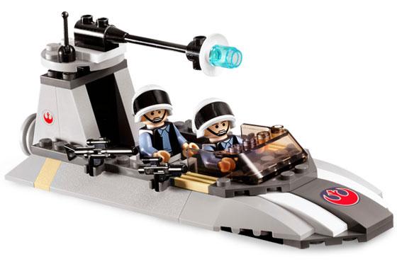 Lego Star Wars - Rebel Scout Speeder - Ref.: 7668  - Hobby Lobby CollectorStore
