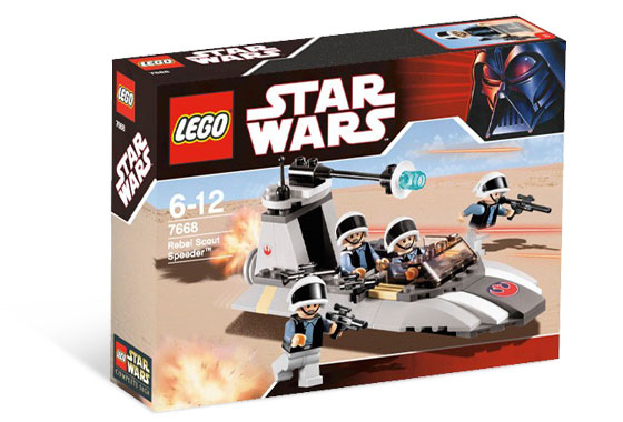 Lego Star Wars - Rebel Scout Speeder - Ref.:7668