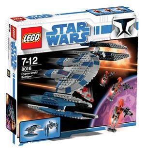 Lego Star Wars - Hyena Droid Bomber - Ref.:8016
