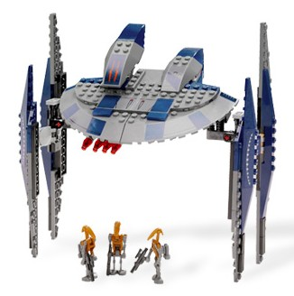 Lego Star Wars - Hyena Droid Bomber - Ref.:8016  - Hobby Lobby CollectorStore