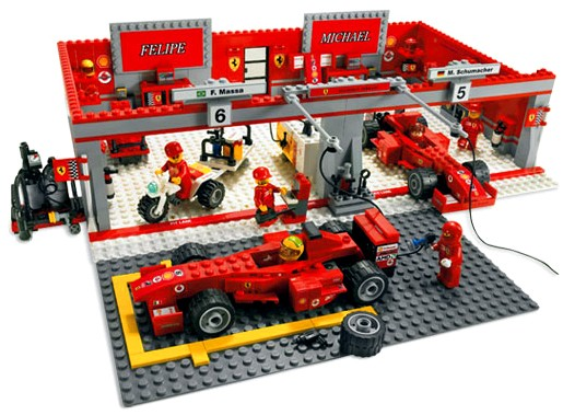 Lego Racers - Ferrari F1 Team - Ref.:8144  - Hobby Lobby CollectorStore