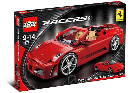 Lego Racers - Ferrari 430 Spider - Ref.:8671
