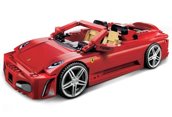 Lego Racers - Ferrari 430 Spider - Ref.:8671  - Hobby Lobby CollectorStore