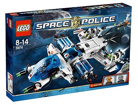 Lego Space Police - Galactic Enforcer  [ Raridade ]  - Hobby Lobby CollectorStore