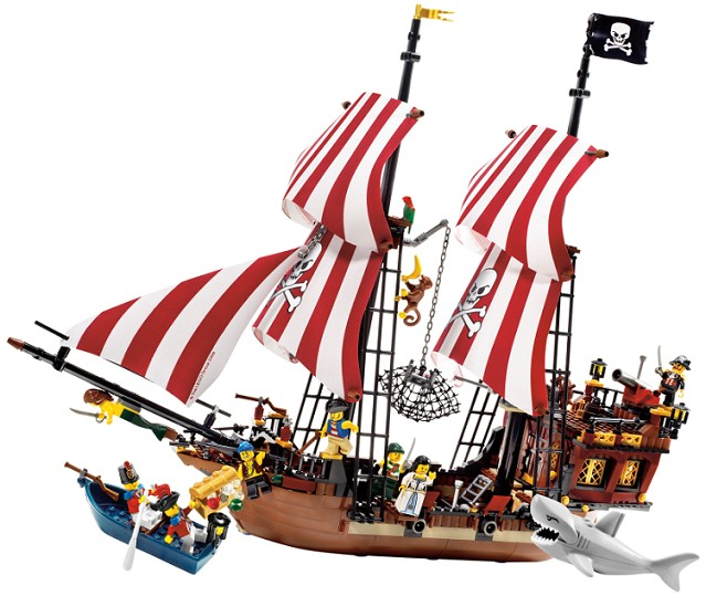 Lego Pirates - Brickbeard´s Bounty - Ref: 6243  - Hobby Lobby CollectorStore