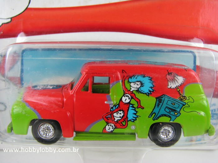 Johnny Lightning - The Cat in the Hat - 1955 Ford Panel Delivery  - Hobby Lobby CollectorStore