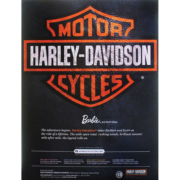 Barbie Collector - Harley-Davidson  - Hobby Lobby CollectorStore