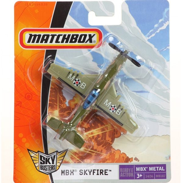 Matchbox - Sky Busters - MBX SKYFIRE  - Hobby Lobby CollectorStore