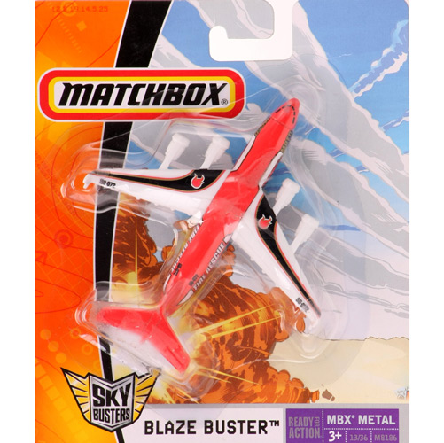 Matchbox - Sky Busters - BLAZE BUSTER - FIRE RESCUE  - Hobby Lobby CollectorStore