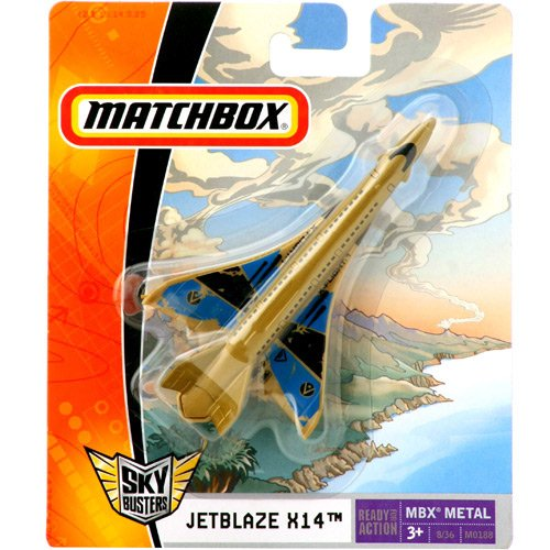 Matchbox - Sky Busters - JETBLAZE X14  - Hobby Lobby CollectorStore