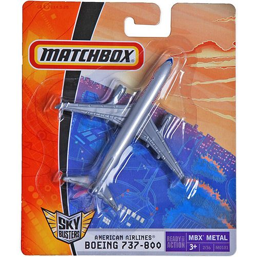 Matchbox - Sky Busters - Boeing 737-800 - AMERICAN AIRLINES