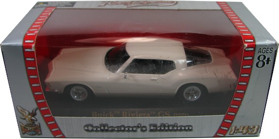 Yatming - Buick Riviera GS (1971)  - Hobby Lobby CollectorStore