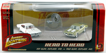 Johnny Lightning - HEAD TO HEAD  - Hobby Lobby CollectorStore