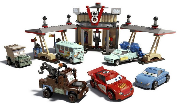 Lego - Flo´s V8 Cafe - Ref:8487  - Hobby Lobby CollectorStore