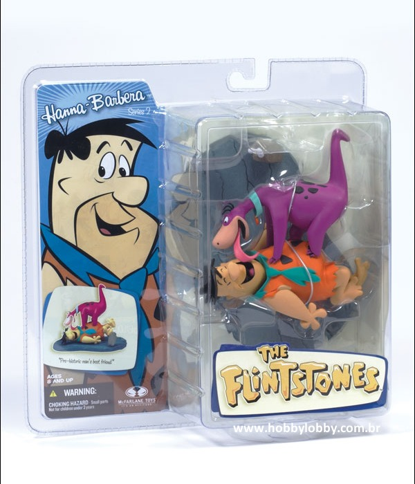 McFARLANE TOYS - FRED FLINTSTONE E DINO: ´WELCOME HOME´ - Hobby Lobby CollectorStore
