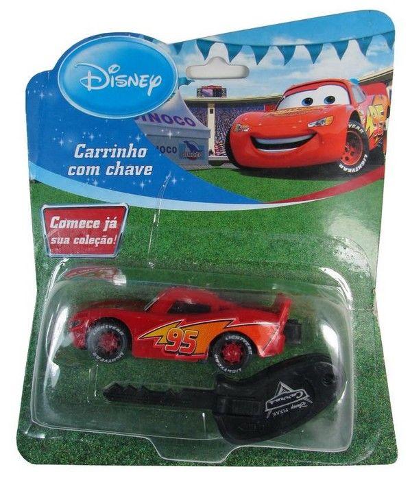 Disney - Relâmpago Mcqueen - Carro com chave