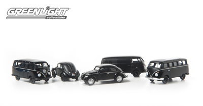 Greenlight - 1:64 MotorWorld - Diorama - Black Bandit