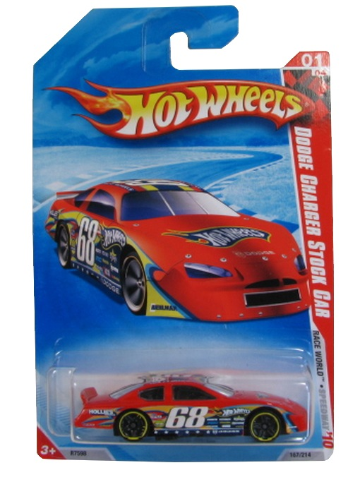 Hot Wheels - Coleção 2010 - Dodge Charger Stock Car