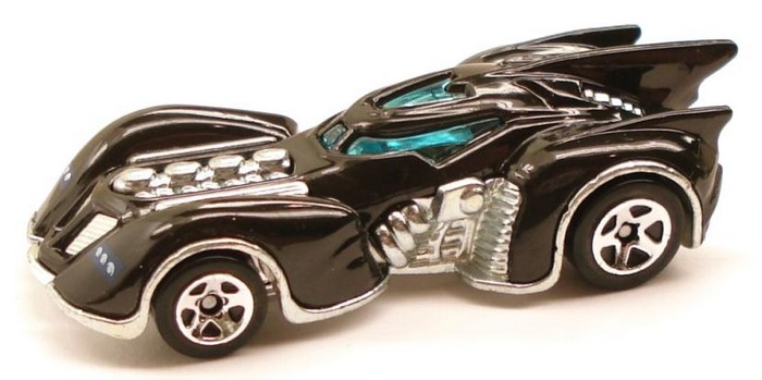 Hot Wheels - Coleção 2011 - Batman Arkham Asylum Batmobile  - Hobby Lobby CollectorStore